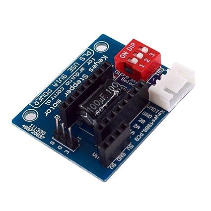 Sanzhileg 1 PC HW-434 A4988 DRV8825 Controlador Paso a Paso Panel ...