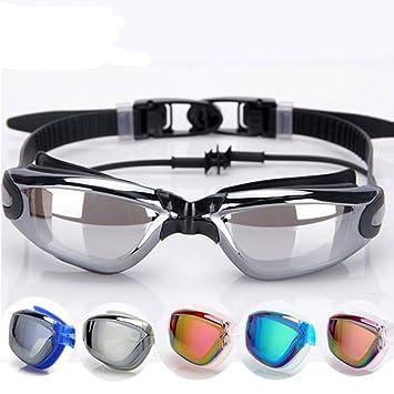 25f87b6434b1 Professional Adult Waterproof Swim Glasses Electroplate Swimming Goggles  Men Women Anti-fog UV Swim Sport