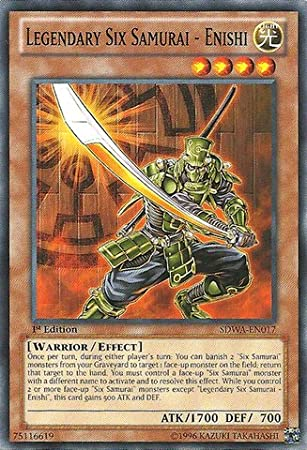 Yu-Gi-Oh! - Legendary Six Samurai - Enishi (SDWA-EN017) - Structure Deck: Samurai Warlords - 1st Edition - Common