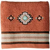 Hand Towel Embroidered Southwest Icons (1)