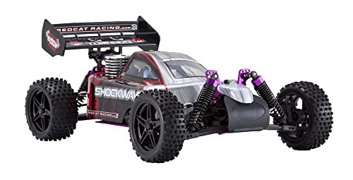 Redcat Racing Nitro Shockwave Buggy With 2.4Ghz Radio 1 10 Scale Red