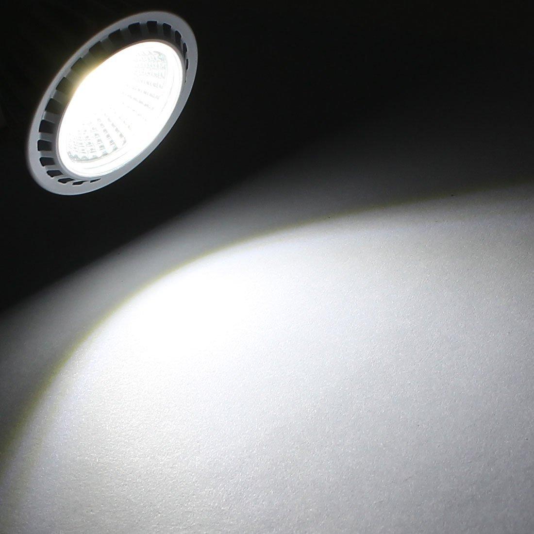 eDealMax AC85-265V 3W COB Ultra brillante LED GU10 bombilla de la lámpara empotrada blanco puro - - Amazon.com