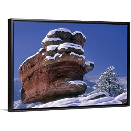 Amazon Com Canvas On Demand Garden Of The Gods With