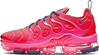 Nike Air Vapormax Plus Zapatillas de running para mujer, Rosa (Carmesí brillante/Rosa Blast/Court Purple/Aurora Verde), 36 EU: Amazon.es: Zapatos y complementos