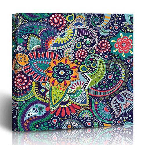 Print Batik Patch - Ahawoso Canvas Print Wall Art Painting 12