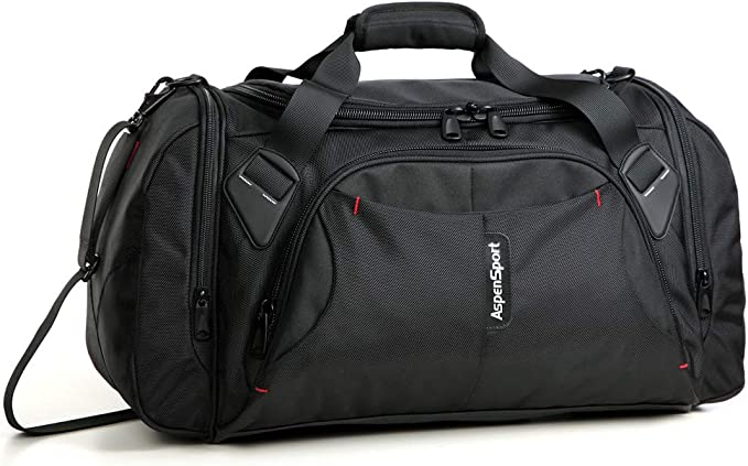 exquisite design best value first rate ASPENSPORT Duffel Bag for Travel Sport Gym Water Resistant Carry on 40 L