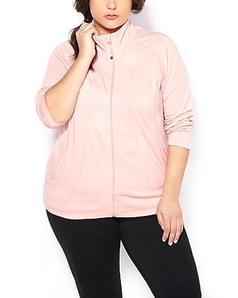 43b100258e0ab Image Unavailable. Image not available for. Color  Penningtons Womens Plus  Size ActiveZone Basic Jacket ...