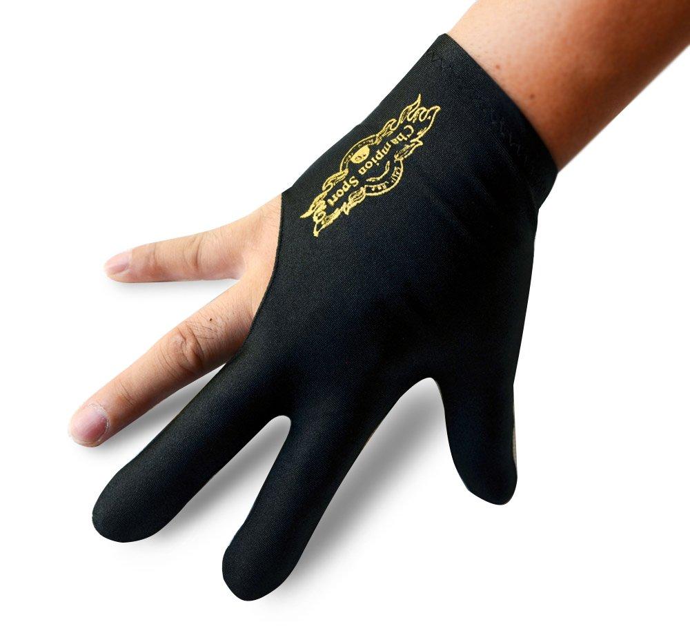 Champion Sport Black Billiards Gloves Image 2