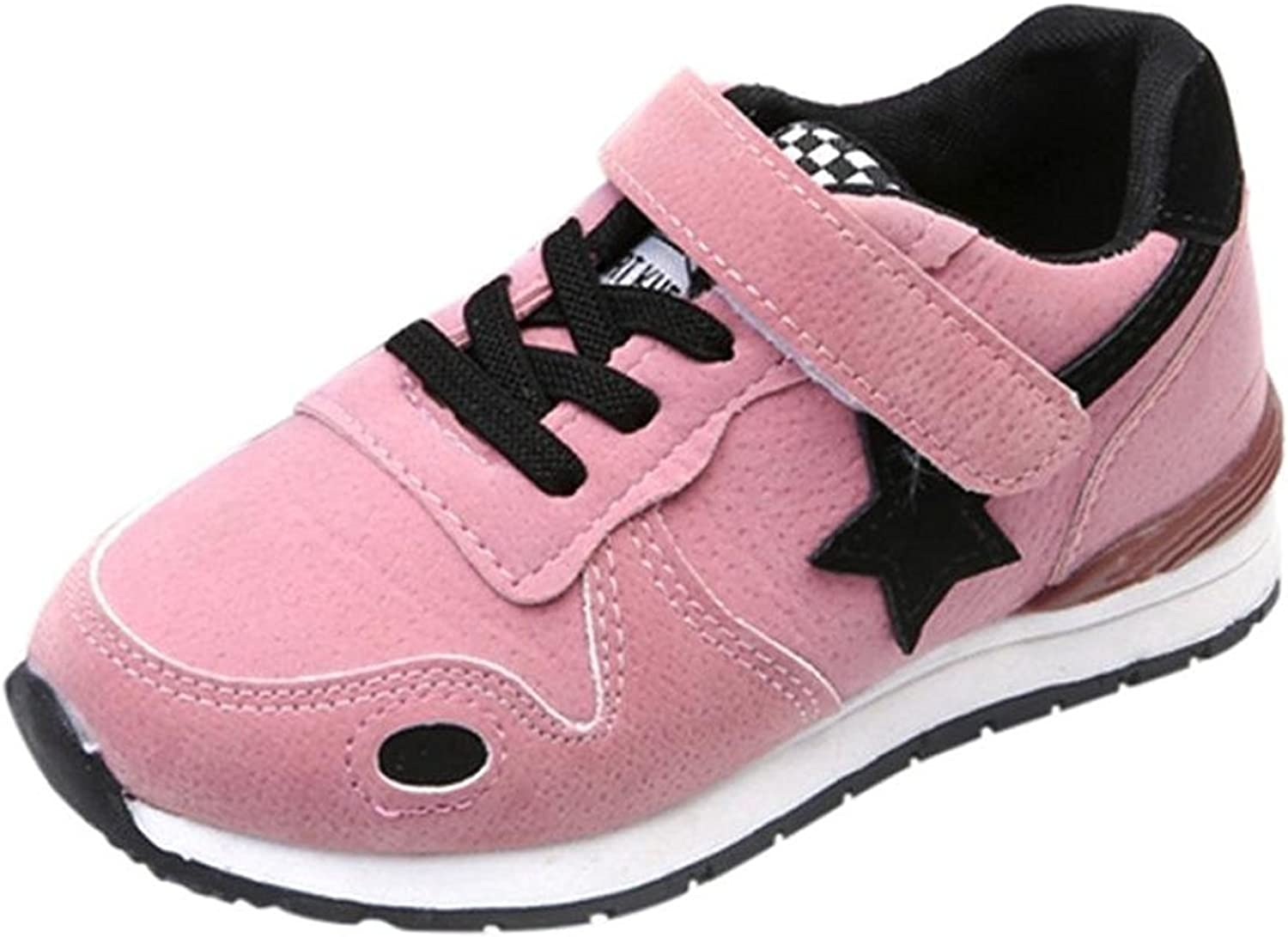 For 1-10 Years Old Kids Sport Running Shoes,Muium Infant Baby Boy Girls Star Mesh Sneakers Boots
