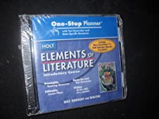 One-Stop Planner CD-ROM with Test Generator (Elements of Literature Introductory Course) staff