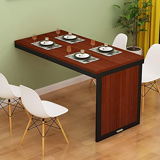 Mesa Plegable de Pared Escritorio de mesa plegable montado en la ...