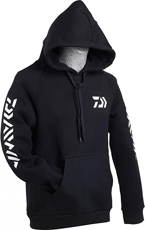 Daiwa Sweat Shirt à Capuche Noir