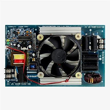 TuToy Calentador De Inducción 2500W Con Bobina Panel De Control De ...