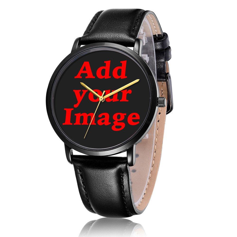 Kusa Fashion Panda Adventurer Wrist Watch, Panda Adventurer Pattern Design PU Leather with Stainless Steel Wrist Watch For Women and Men by Kusa (Image #3)