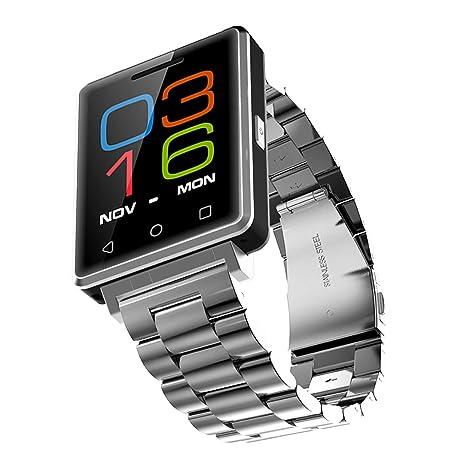 Fitness Tracker Smart Salud reloj de pulsera con Smartwatch pantalla táctil, Apoyo a las llamadas