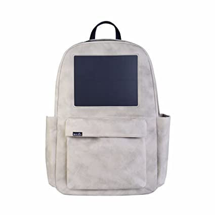 Solar Backpack – Waterproof Solar Backpack for Travel – 3000 mAH Li-Ion  Battery 2.4 96a2474b7157e