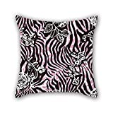 Tenis Nike Best Deals - NICEPLW leopard cushion covers 16 x 16 inches / 40 by 40 cm gift or decor for kids,teens boys,boys,wife,kids room,play room - twice sides