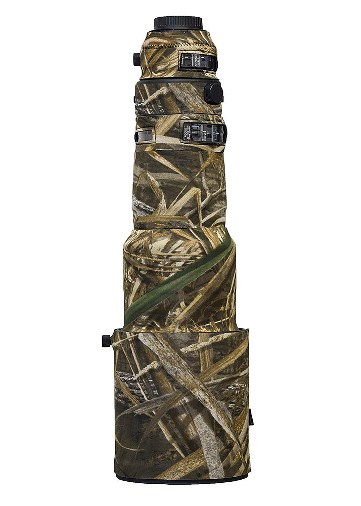 LensCoat Cover Camouflage Neoprene Camera Lens Cover Protection Sigma 500mm F/4 DG OS HSM Sports, Realtree Max5 (lcs500sm5) by LENSCOAT (Image #1)
