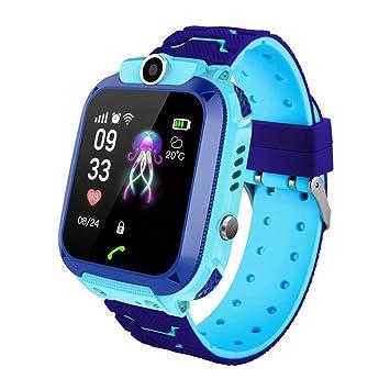Amazon.com: Q12 Smart Watch Baby Children Watch GPS Phone ...