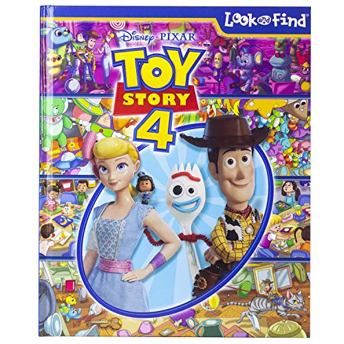 Disney Pixar - Toy Story 4 Look and Find - PI Kids]()
