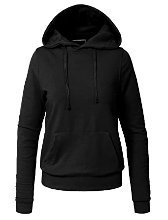 NE PEOPLE Womens Basic Zip Up Hoodie Jacket with Pockets S-3XL at ... 902b6b9b2c