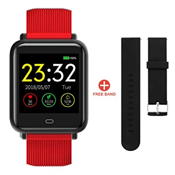 Tutmonda Q9 Bluetooth Smartwatch Fitness Tracker Pulsera ...