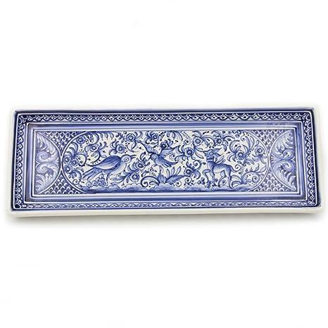 Amazon.com: Madeira House Coimbra Ceramics - Bandeja ...