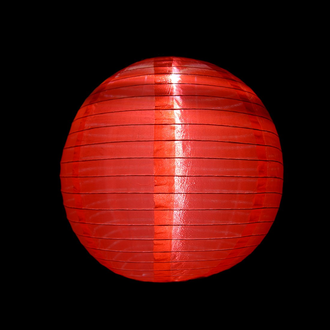 uxcell 2 Packs Red 12'' Solar Powered Lanterns Hanging Solar Lamps for Garden by uxcell (Image #6)