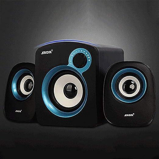 LNN Portátil de Audio Mini Altavoz portátil USB: Amazon.es: Jardín