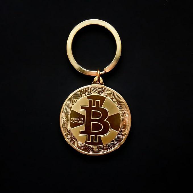Llavero de monedas de Bitcoin, AmaMary nuevo llavero vintage ...