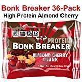 Bonk Breaker High Protein Almond Cherry Chunk 36-Pack (3 boxes (36 bars))