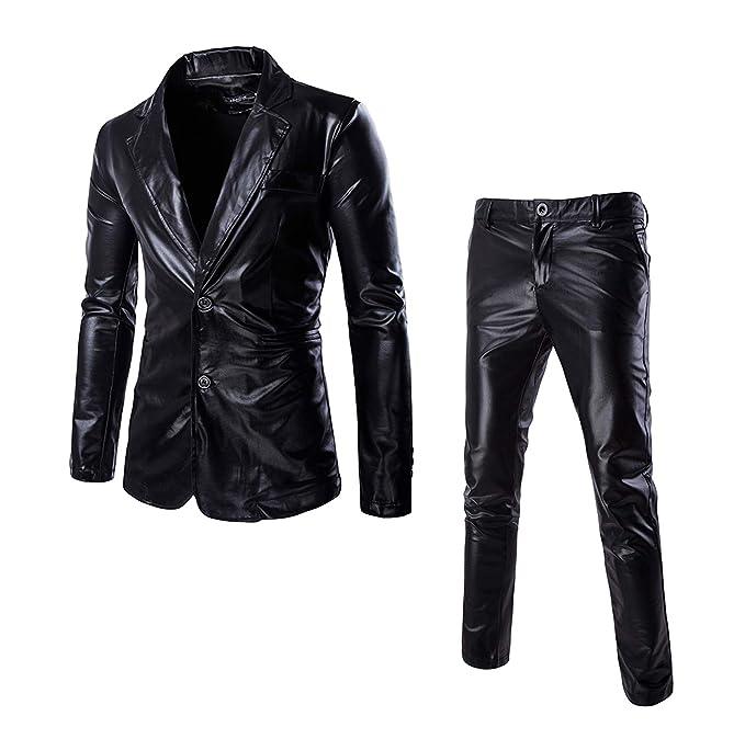 Amazon.com: Juego de dos piezas de chaqueta y pantalones ...