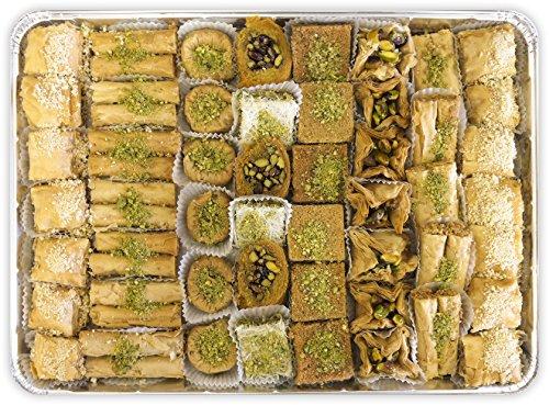 Baklava Assortment - Sugar Free - 63 Pcs (Baklava Greek Pastry)