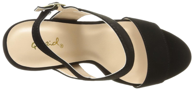 Qupid Womens Beat-44 Platform Sandal