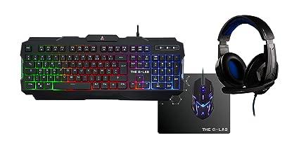 The G-Lab Combo Argon/SP - Pack Gaming (Teclado, Ratón Y