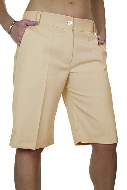 (1492) Damen Intelligente Waschbar Day Abend Tailored Shorts: Amazon.de:  Bekleidung