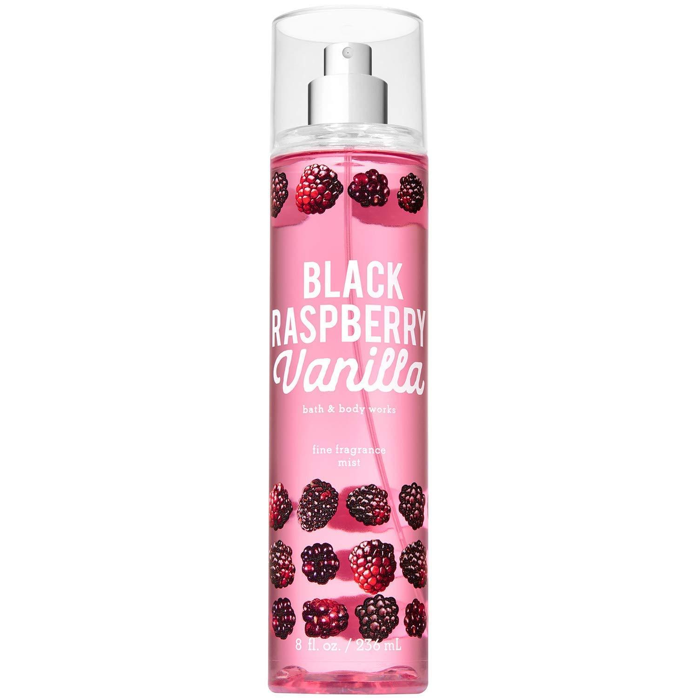 Bath and Body Works Fine Fragrance Mist Black Raspberry Vanilla 8 Ounce