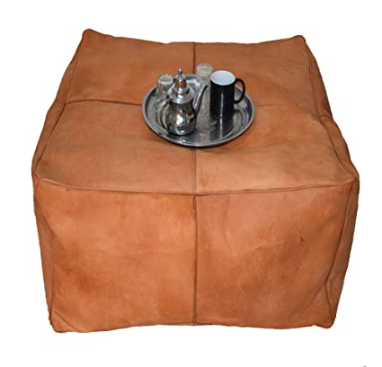 Terrific Amazon Com Large Square Pouf Ottoman Pouf Coffee Table Frankydiablos Diy Chair Ideas Frankydiabloscom