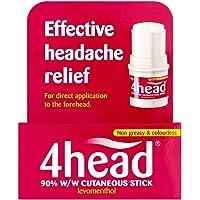 4head Headache & Migraine Relief Stick - 3.6g