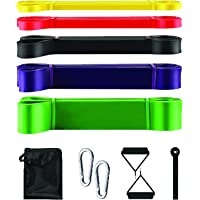 Pull Up Assistance Resistance Bands Exercise-Stretch Bands with Door anchor and Handles Powerlifting Stretch Fitness…