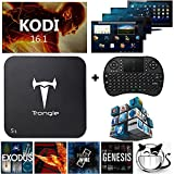 [Free Wireless Keyboard + Mouse] Trongle S1 Amlogic S805 Quad Core Xbmc TV Box Android 4.4 Kitkat H.265 Wifi LAN Miracast Airplay Hdmi 1g RAM 8g ROM