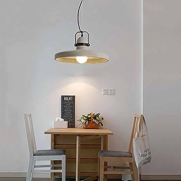 Contemporánea Cemento de lámpara colgante, creativos ...