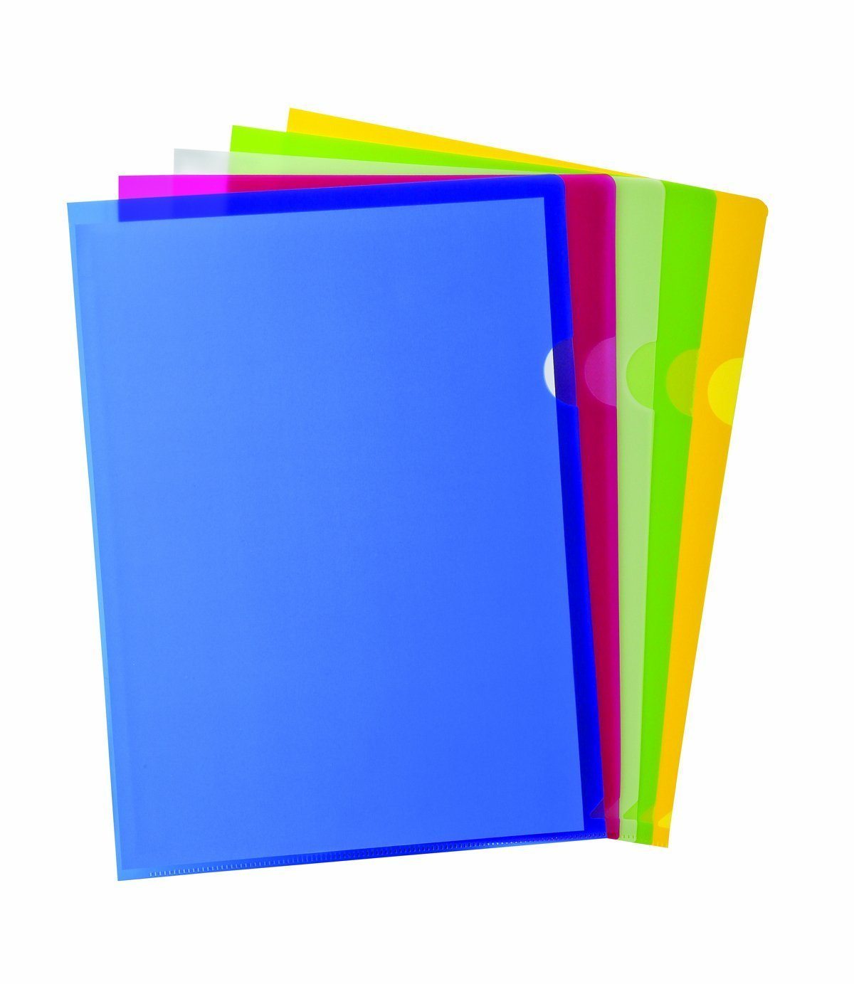 Generic Copy Safe Project Pockets, Letter Size, Assorted Colors