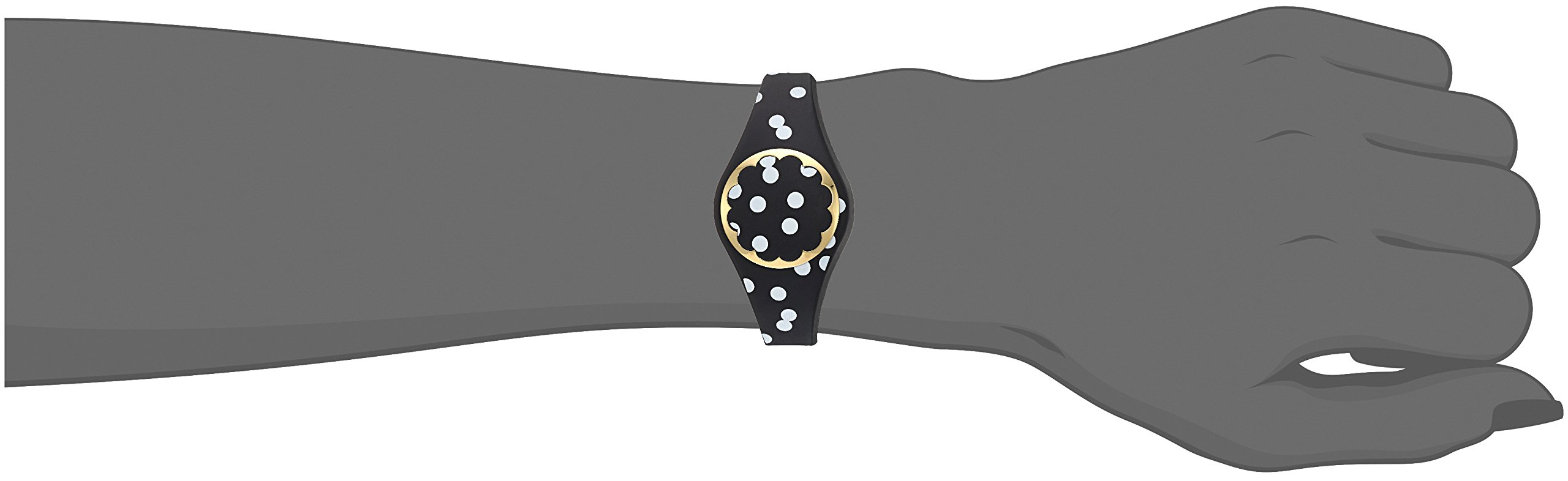 Kate Spade New York black and white dot scallop activity tracker by Kate Spade New York (Image #7)