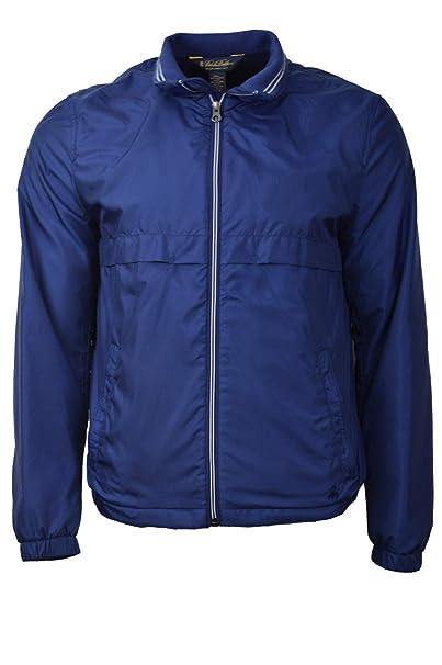 82f4d6669 Brooks Brothers Men's Contrast Zip Packable Windbreaker Rain Jacket ...