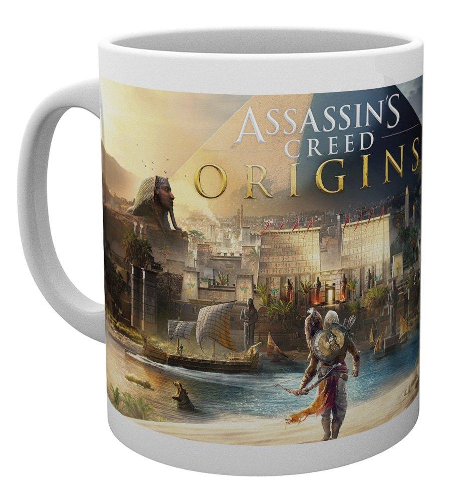GB eye Assassins Creed Origins Cover Mug, Wood, Multi-Colour, 15 x 10 x 9 cm GB eye Ltd MG2543