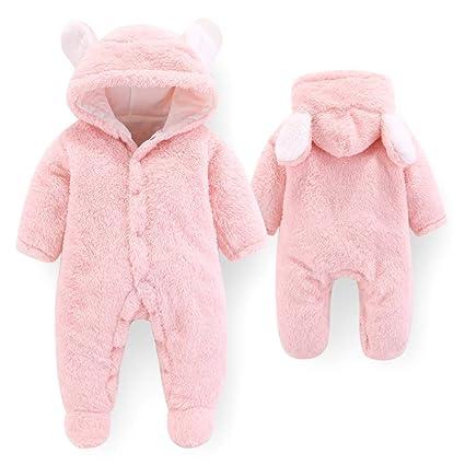 Chaqueta de abrigo para niños Bebé recién nacido Niño de una pieza ...