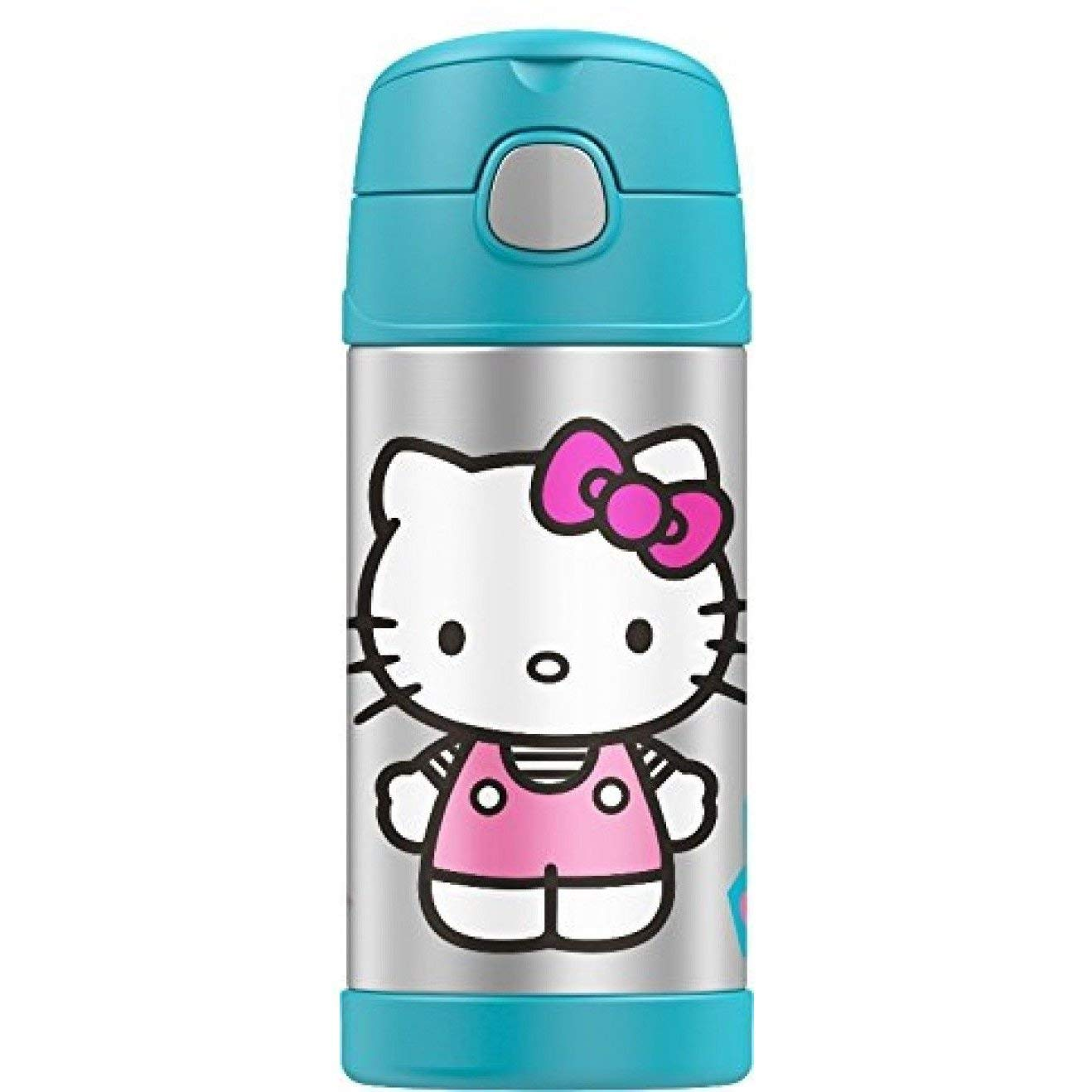 Thermos Funtainer 12 Ounce Bottle Hello Kitty Assorted Bott Funko Pop Doraemon Colors Kitchen Dining