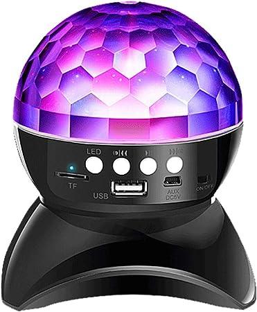 Whf Simple Led Colore Neon Sans Fil Bluetooth Haut Parleur Cadeau