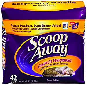 SCOOP AWAY Multicat Complete Performance Cat Litter, 42-Pound